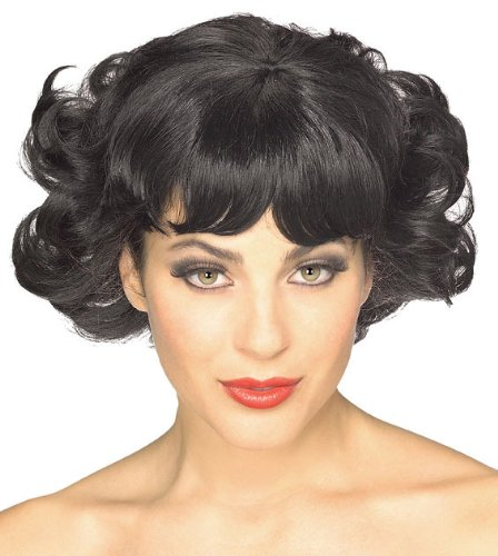 [Rubie's Costume Cutie Flip Wig, Black, One Size] (Betty Boop Wig)