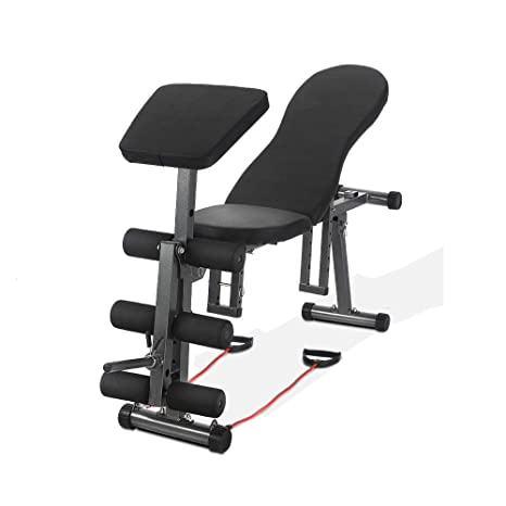 Strange Amazon Com Zyx Kfxl Exercise Bench Weight Bench Black Gmtry Best Dining Table And Chair Ideas Images Gmtryco