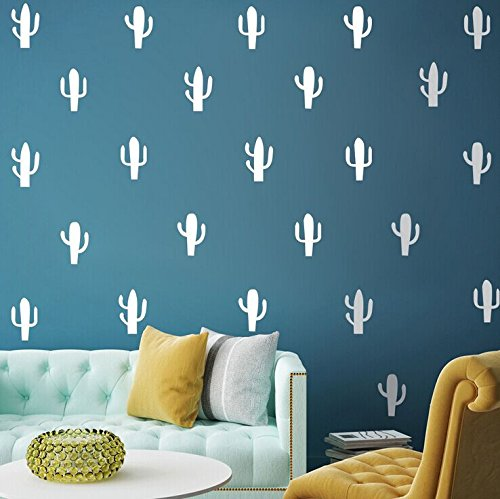 Homen Decor Cactus Stickers Bedroom Livingroom Ofiice Childr