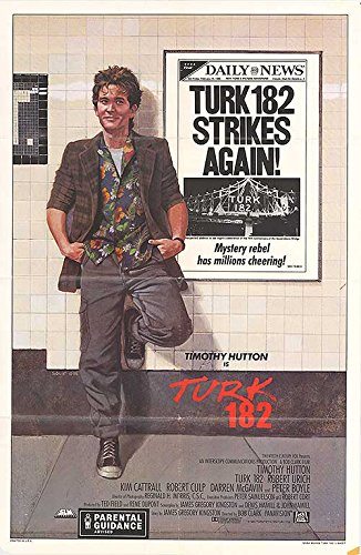 Turk 182   Authentic Original 27  X 41  Folded Movie Poster