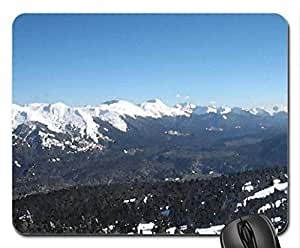powder king resort canada Mouse Pad, Mousepad (Mountains Mouse Pad, 10.2 x 8.3 x 0.12 inches)