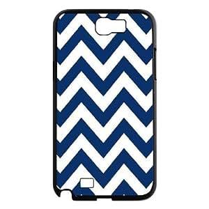 Chevron Stripes Custom Cover Case for Samsung Galaxy Note 2 N7100,diy phone case ygtg623855