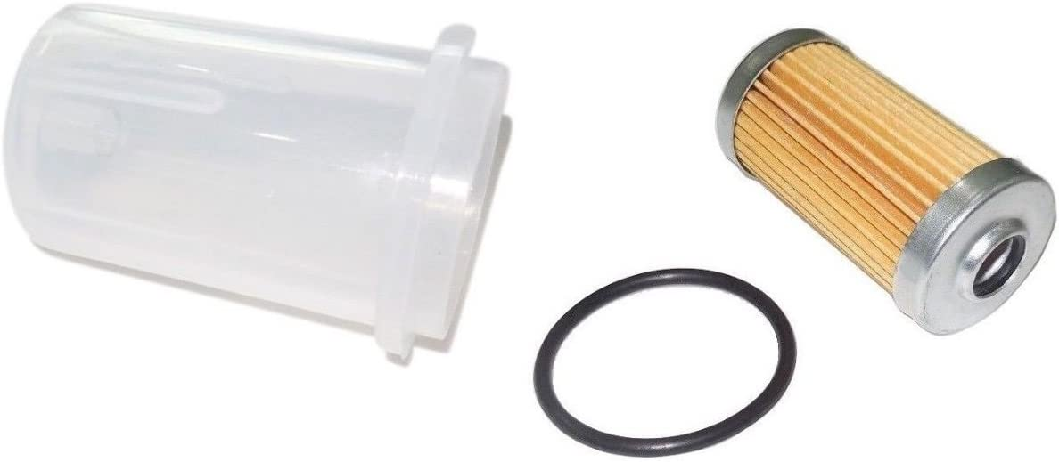 Kumar Bros USA New Fuel Filter with O-Ring & Bowl for John Deere 415 425 445 455 650 670 750