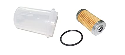 Amazon com: New Yanmar Fuel Filter with O-ring & BOWL YM1500D YM1510