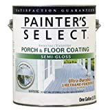 True Value USGFD-GL  Painter's Select Deep Base Exterior Urethane Fortified Semi-Gloss Porch and Floor Coating, 1-Gallon