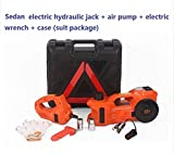 GOWE 3Ton 12v electric hydraulic floor multifunctional Jack with air inflator electric winch 3t sedan (Anti-freezing function)