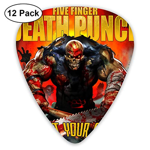 Memories Of God Five Finger Death Punch Got Your Six Guitar Picks 12 Pieces for All Perfect Guitarist Gifts 12 Pieces