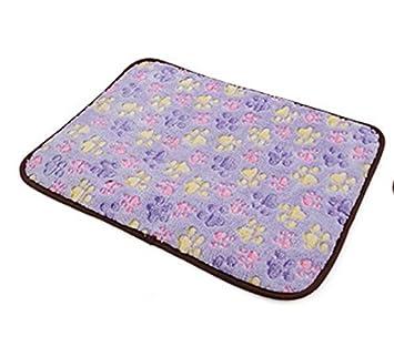 Sun Glower Bonita Cama para Su Mascota Alfombra para dormir de doble uso para enjuague de