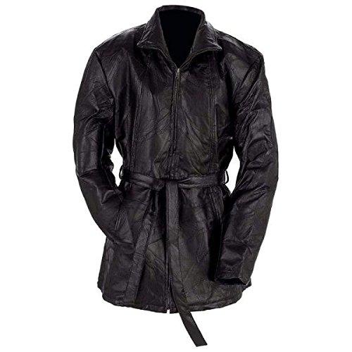 Giovanni Navarre Italian Stone Design Genuine Leather Ladies Jacket GFLZPB2X