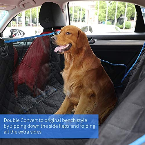 Car Seat Covers for Dogs 600D Heavy Duty Scratch Proof Pet Back Seat Covers