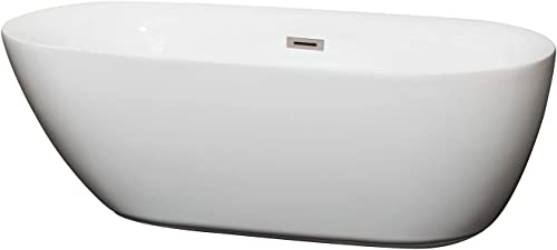 Wyndham Collection Melissa 65 inch Freestanding Bathtub