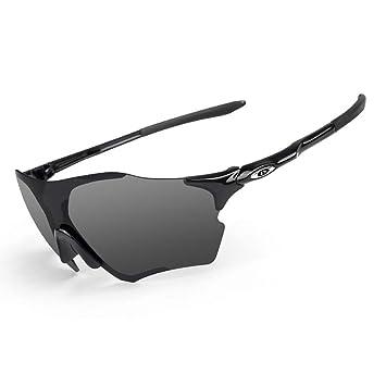 OPEL-R Gafas de Sol Hombre Sin Marco Polarizadas Oakley ...