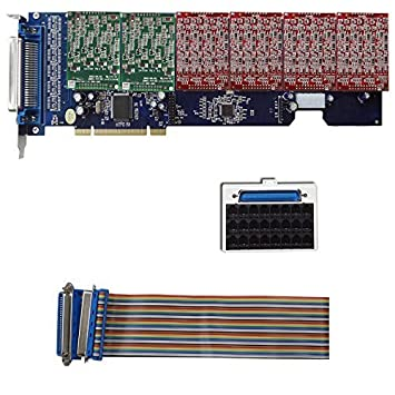 TDM2400P with 16 FXO+8 FXS Ports Supports Asterisk: Amazon