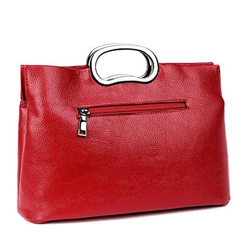 Di Rosso Moda Nuovo Metallo Gwqgz Giallo Spessore Singoli Sacchetto Della 5zFwqYg