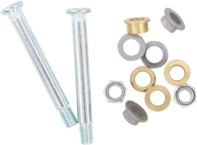 XtremeAmazing Front Door Hinge Pin and Bushing Repair Kit 2 pin 1 Door for Ford Lincoln Mercury