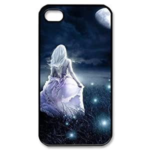 ALICASE Diy Customized hard Case Night Fairy For Iphone 4/4s [Pattern-1]