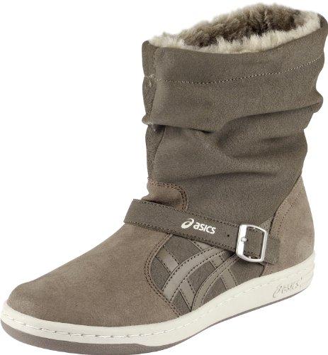 Asics - Botas de cuero para mujer marrón - marrón