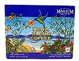 Magnum Exotics Coffee, Kona Blend Coffee, Single Serve K-Cups, 42 count