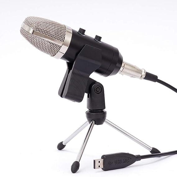 Schwarz Mini Kondensator Mikrofon mit 3,5mm Stereo Stecker aus Schwamm