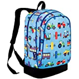 Olive Kids Trains, Planes and Trucks 15 Inch Backpack