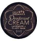 Deodorant Cream Lavender & Clary Sage 2 oz by Lulu Organics