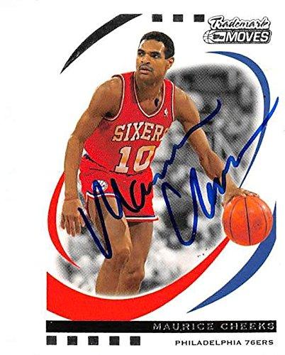 ba1585ae8772 Amazon.com  Maurice Cheeks autographed basketball card (Philadelphia 76ers  Mo) 2007 Topps  99 Trademark Moves - Unsigned Basketball Cards  Sports ...