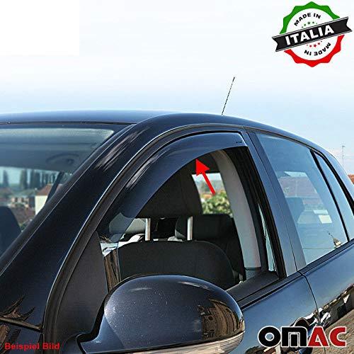 Omac GmbH Mercedes Citan Kangoo II Kubistar Windabweiser Regenabweiser 2 TLG vorne