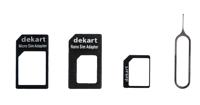 Amazon.com: Lector de tarjetas SIM Dekart (2019) con potente ...