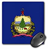 3dRose LLC 8 x 8 x 0.25 Inches State Flag of Vermont (PD-US) Mouse Pad (mp_55343_1)
