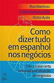 Como dizer tudo em espanhol negócios