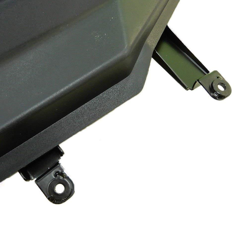 KEMIMOTO Lower Half Door Inserts Panels for Polaris RZR S 900 XP 1000 Turbo 60 Models 2 DOORS