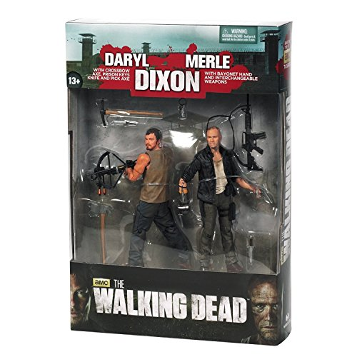 McFarlane Toys The Walking Dead TV Series 4, Merle & Daryl Dixon Brothers, 2-Figure Pack