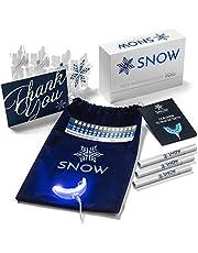 Snow Teeth Whitening Kit All-in-One at Home System voor wittere tanden zonder gevoeligheid, wittere tanden in AS weinig AS 9 minuten, 5 jaar garantie, 350.000.000+ wereldwijde ventilatoren, 6 maanden levering