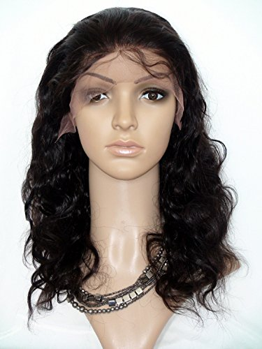 """Price comparison product image Cheap 20"""" Lace Front Wig With Baby Hair Human Wig For Black Woman Long Lace Wig Malaysian Virgin Remy Human Hair Body Wave Color #2 Dark Brown"""