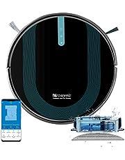 Proscenic 850T robot odkurzający z Wi-Fi, sterowanie systemem Alexa i Google Home oraz aplikacją, moc ssania 3.000 Pa