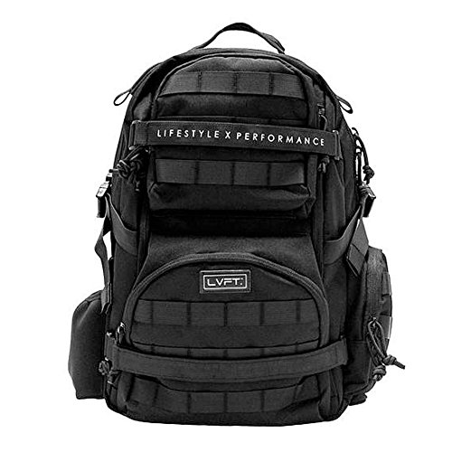 Live Fit. Apparel Unisex Tactical Backpack Bag Black One Size by Live Fit. Apparel