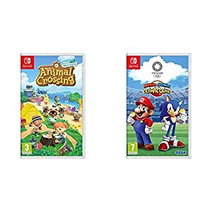 Animal Crossing New Horizons – Nintendo Switch Standard Edition & Mario and Sonic at the Olympic Games Tokyo 2020