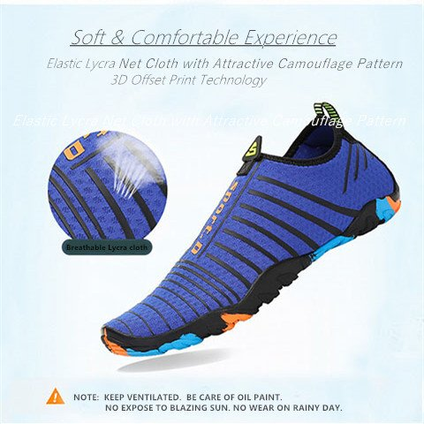 Barefoot Swim Aqua Beach Womens Blue Quick Mens Yoga Shoes Water Dry Socks Voovix w1nvYqOn