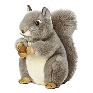 "Aurora World Miyoni Grey Squirrel 8"" Plush - 51qRr6xYWIL - Aurora World Miyoni Grey Squirrel 8″ Plush"