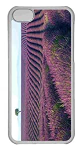 Customized iPhone 6 PC Transparent Case - Summer Landscape 6 Personalized Cover