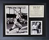 "Legends Never Die ""Babe Ruth Swing"" Framed Photo Collage, 11 x 14-Inch"