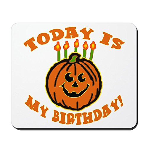 CafePress - My Halloween Birthday Mousepad - Non-slip Rubber Mousepad, Gaming Mouse Pad