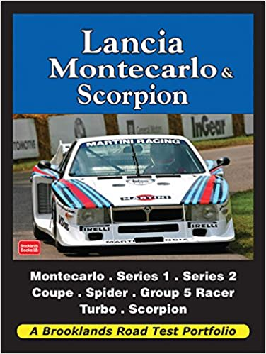 Lancia Montecarlo & Scorpion Road Test Portfolio Brooklands Books Road Tests Series: Amazon.es: R. M. Clarke: Libros en idiomas extranjeros
