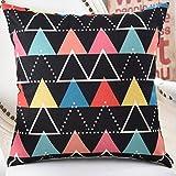 YJYS LJBY More colors American country-style pillow PP cotton back cushion sofa bedside linen Hug pillowcase -B 45x45cm(18x18inch) VersionB