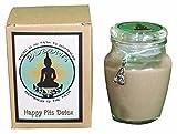 Buddha Bliss Happy Pits Detox Deodorant 100% All Natural Organic, Non-Toxic, Aluminum Free, Paraben Free, Non-GMO, for Women and Men – Long Lasting, 8 oz Jar - Lavender