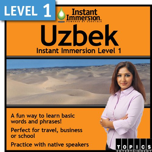 Instant Immersion Level 1 - Uzbek [Download]