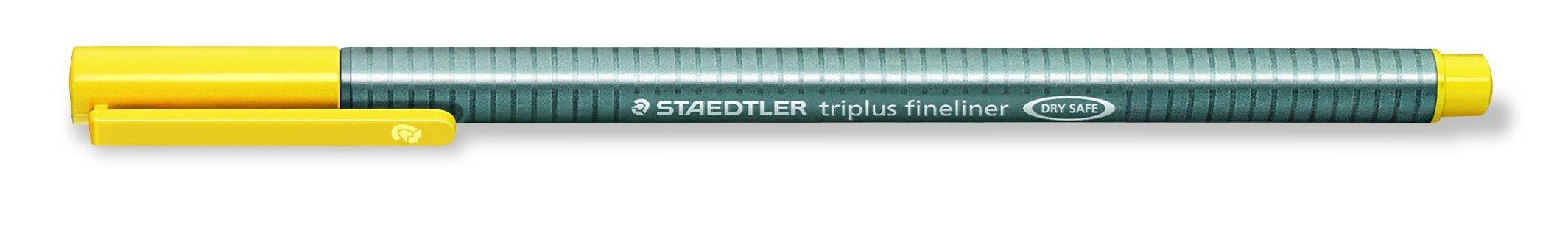 Triplus Fineliner ''26-Piece Bonus Pack'' Pens by Staedtler, 0.3mm, Metal Clad Tip, 26/PK (20 + 6 Neon Colors), Assorted (1-Pack) by STAEDTLER (Image #3)