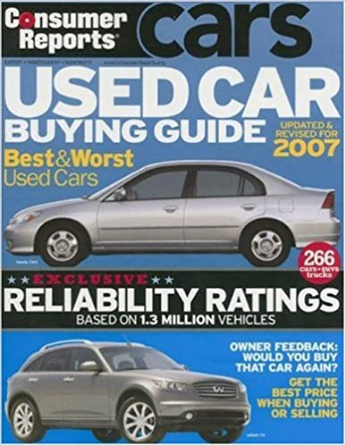 Online herunterladen Consumer Reports Used Car Buying Guide auf Deutsch PDF PDB CHM
