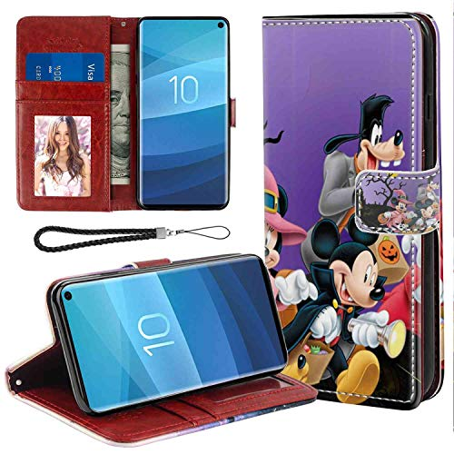 Wallet Case with Magnetic Closure Compatible Galaxy S10+ [6.4