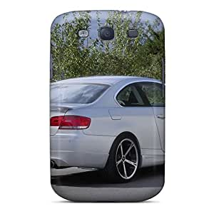 Cute Appearance Covers/tpu Tfg11480dWFB White Ac Schnitzer Bmw E92 3 Series Coupe Rear Angle Cases For Galaxy S3 Black Friday